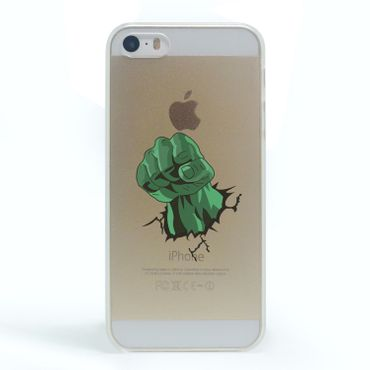 Kritzel Case iPhone 5s / SE - Comic SHC - Hulk