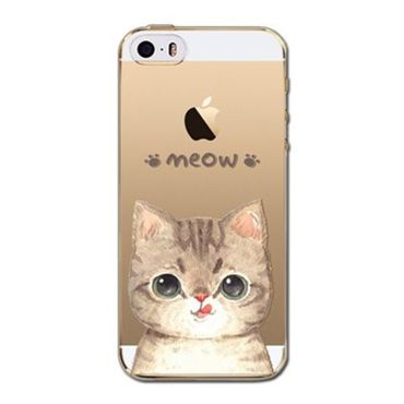 Kritzel Case iPhone 5s / SE - Kitty Collection #398