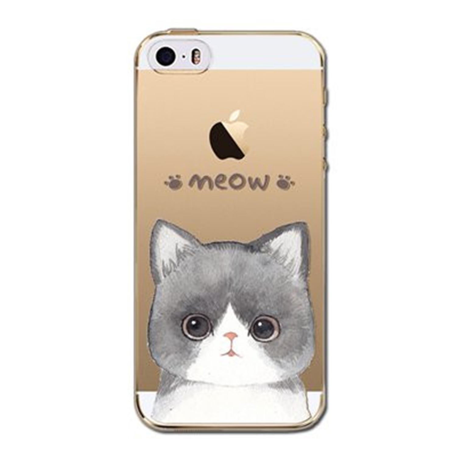 Kritzel Case iPhone 5s / SE - Kitty Collection #400