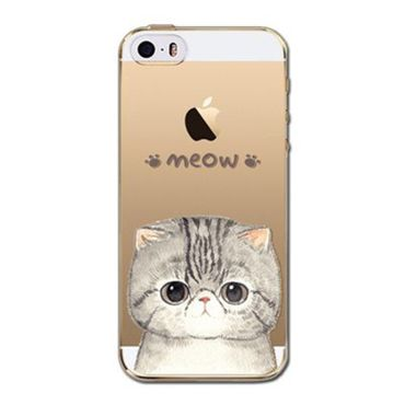 Kritzel Case iPhone 5s / SE - Kitty Collection #402