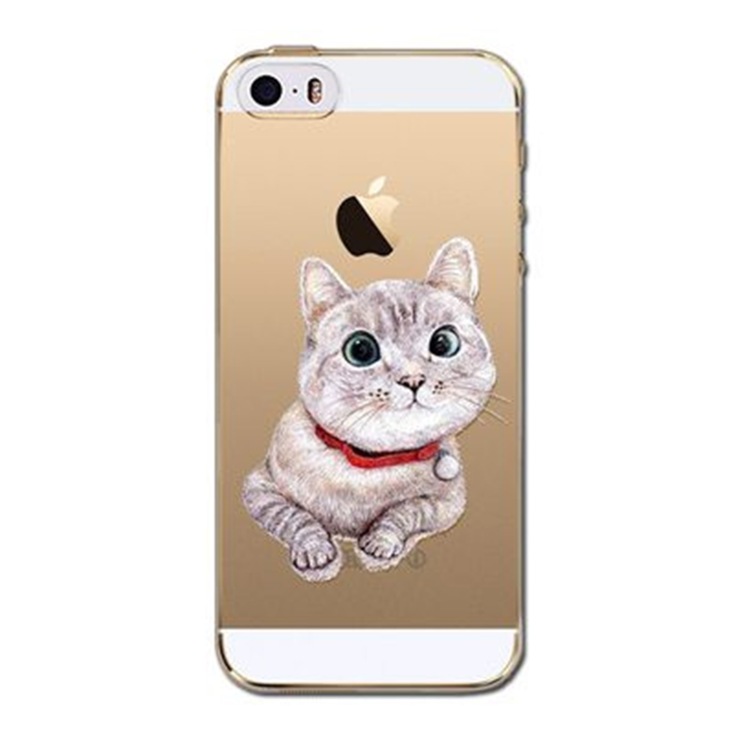 Kritzel Case iPhone 5s / SE - Kitty Collection #404