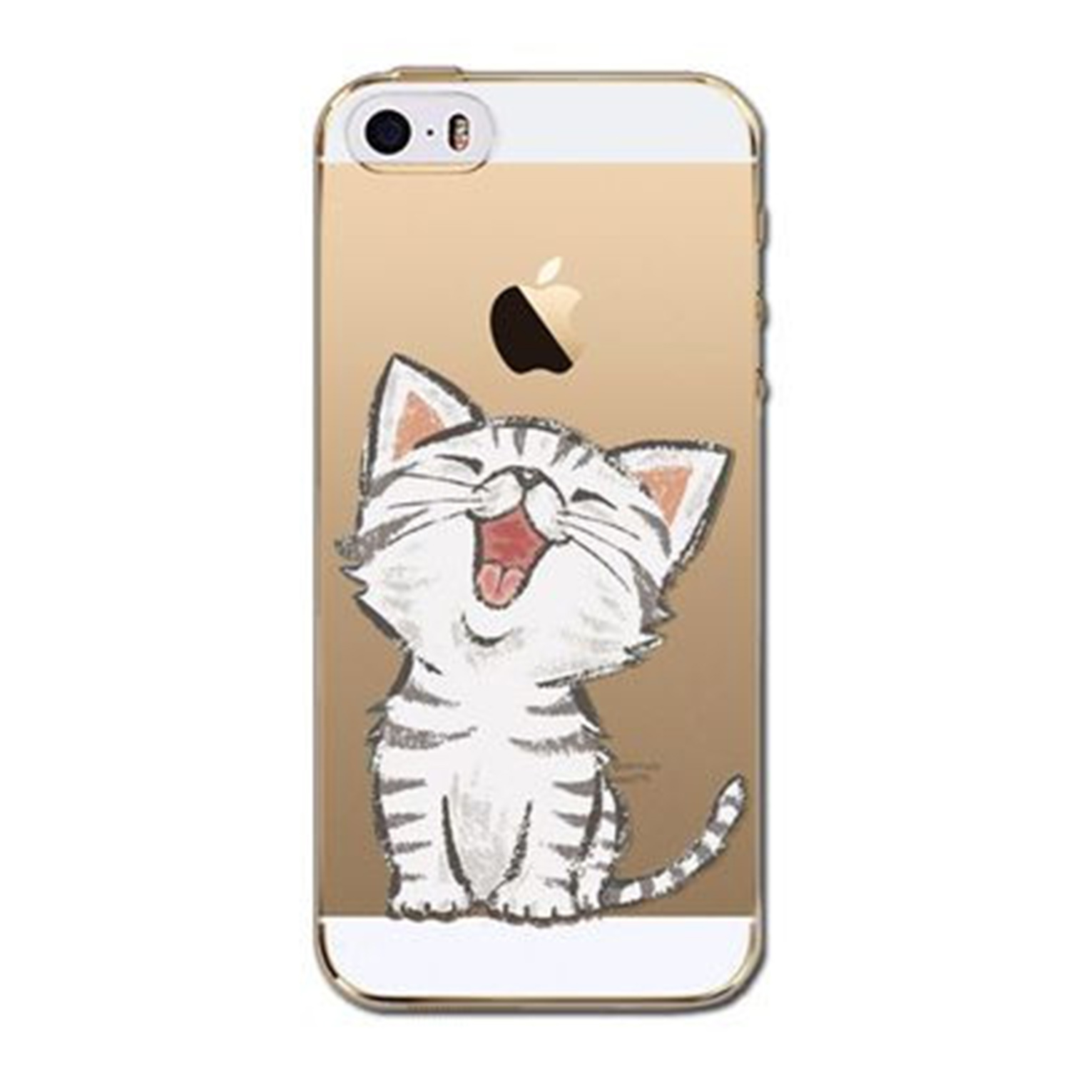Kritzel Case iPhone 5s / SE - Kitty Collection #405