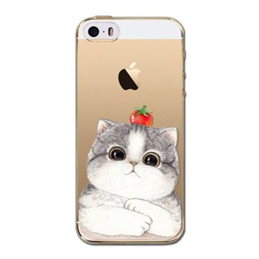 Kritzel Case iPhone 5s / SE - Kitty Collection #406