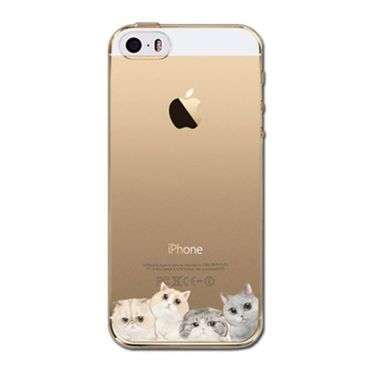 Kritzel Case iPhone 5s / SE - Kitty Collection #407