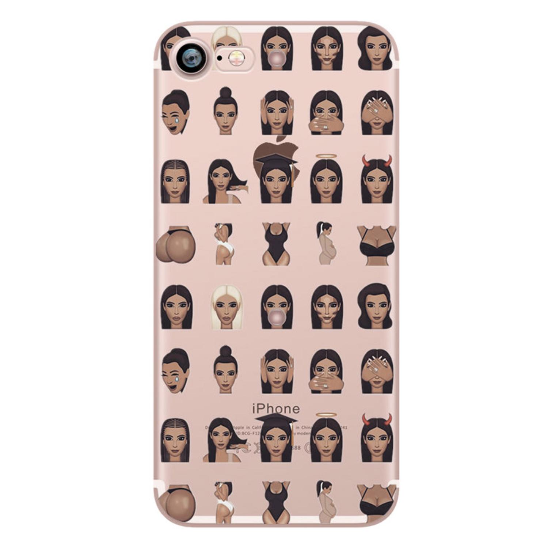 Kritzel Schutzhülle für iPhone 7 - Kimoji #5