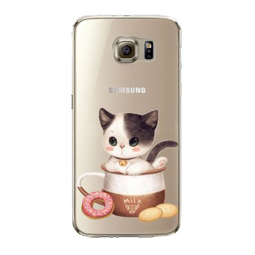Kritzel Case Collection Galaxy S7 edge - Kitty Collection #450