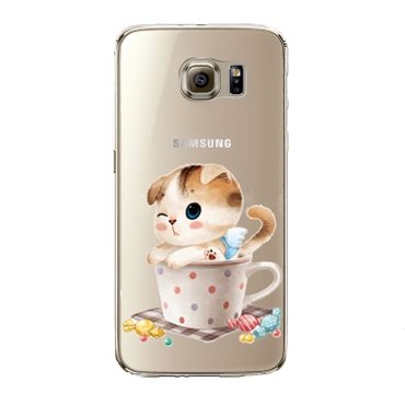 Kritzel Case Collection Galaxy S7 edge - Kitty Collection #452