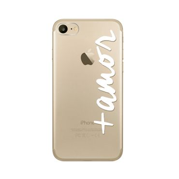 SKEENIO iPhone 7 Silikon Hülle Case Clear TPU Schutzhülle Transparent Hülle Case Cover Weich Ultradünn Slimcase Motiv - Thumb 4