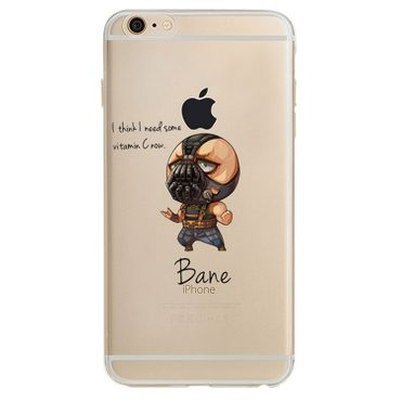 Kritzel Superheroes Collection für iPhone 7 - Bane
