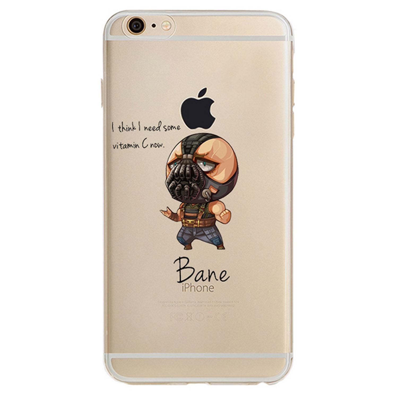 Kritzel Superheroes Collection für iPhone 7 - Bane