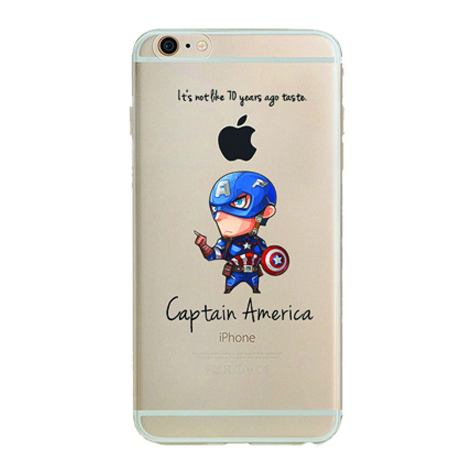 Kritzel Collection für iPhone 7 - Captain America