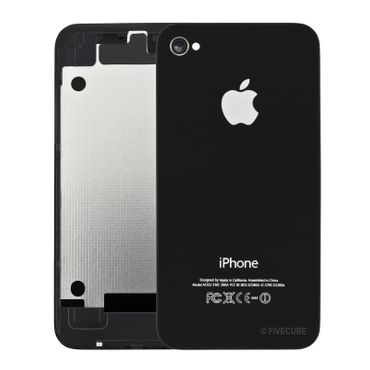 Yemota Pro Backcover für iPhone 4G - Schwarz - Thumb 1