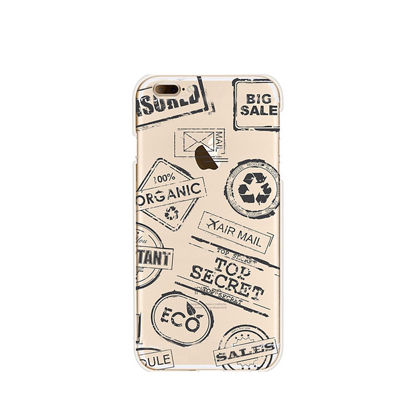 NOXCASE Schutzhülle für iPhone 7 - Stamp
