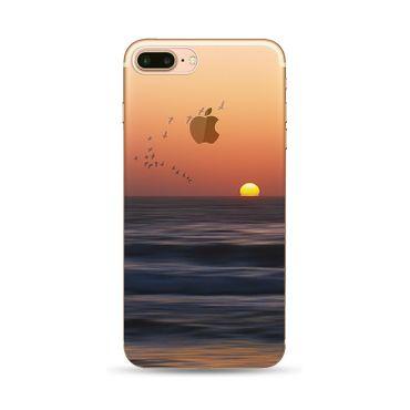NOXCASE Schutzhülle für iPhone 7 - Nature Vögel/Meer