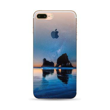 NOXCASE Schutzhülle für iPhone 7 Plus - Nature 2 Felsen