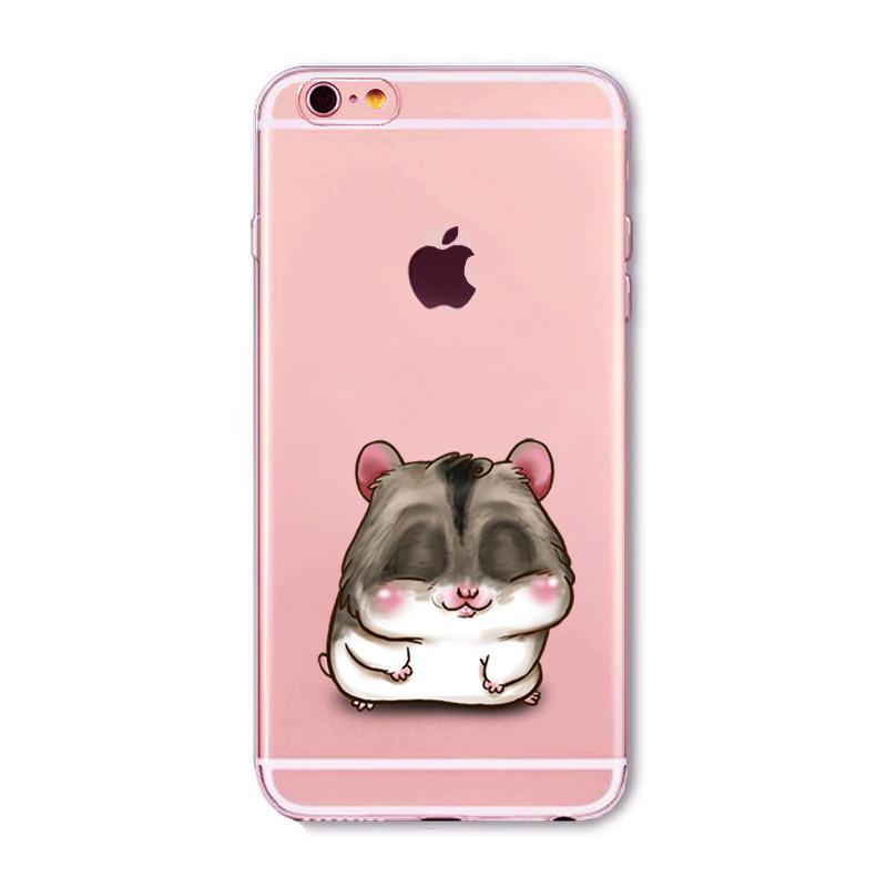 Kritzel Case iPhone 6 / 6s - Hamster