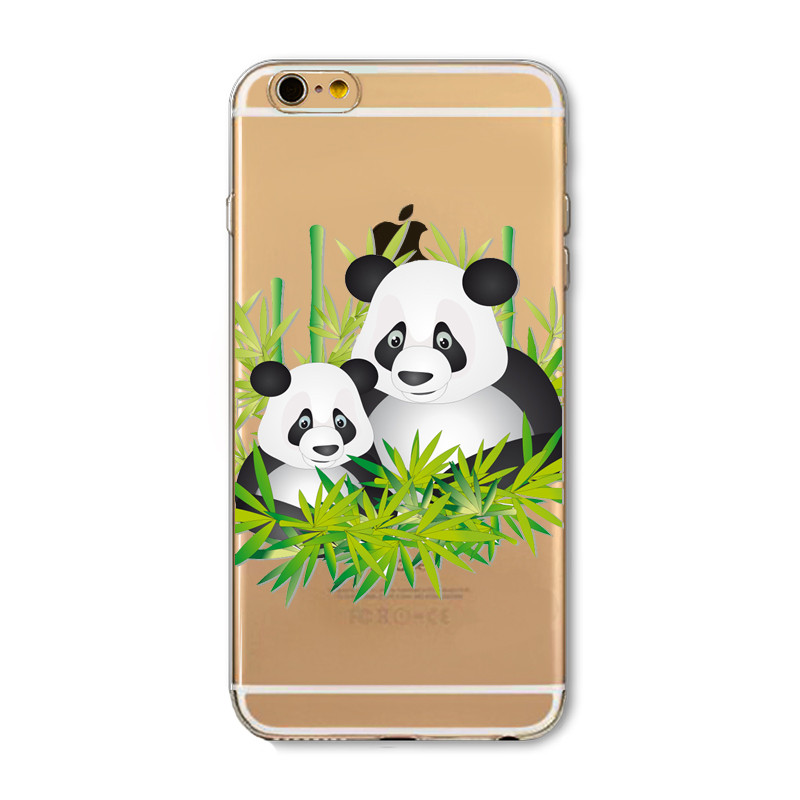 Kritzel Case iPhone 6 / 6s - Panda