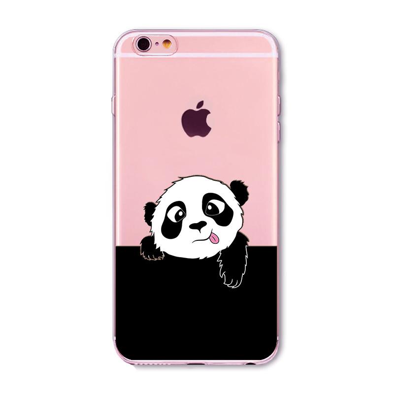 Kritzel Case iPhone 6 / 6s - Panda