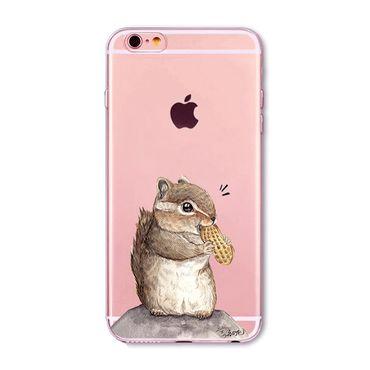 Kritzel Case iPhone 6 / 6s - Streifenhörnchen
