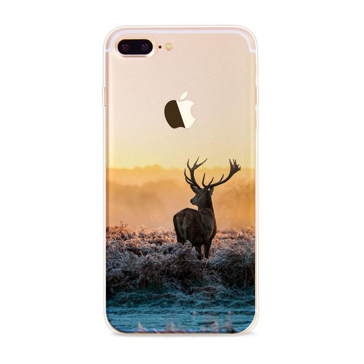 Kritzel Schutzhülle für iPhone 7 - Nature