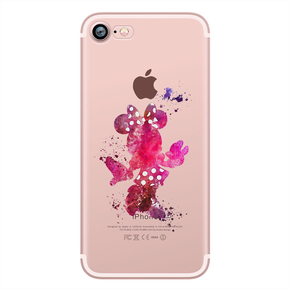 Kritzel Schutzhülle für iPhone 7 - Minnie Mouse