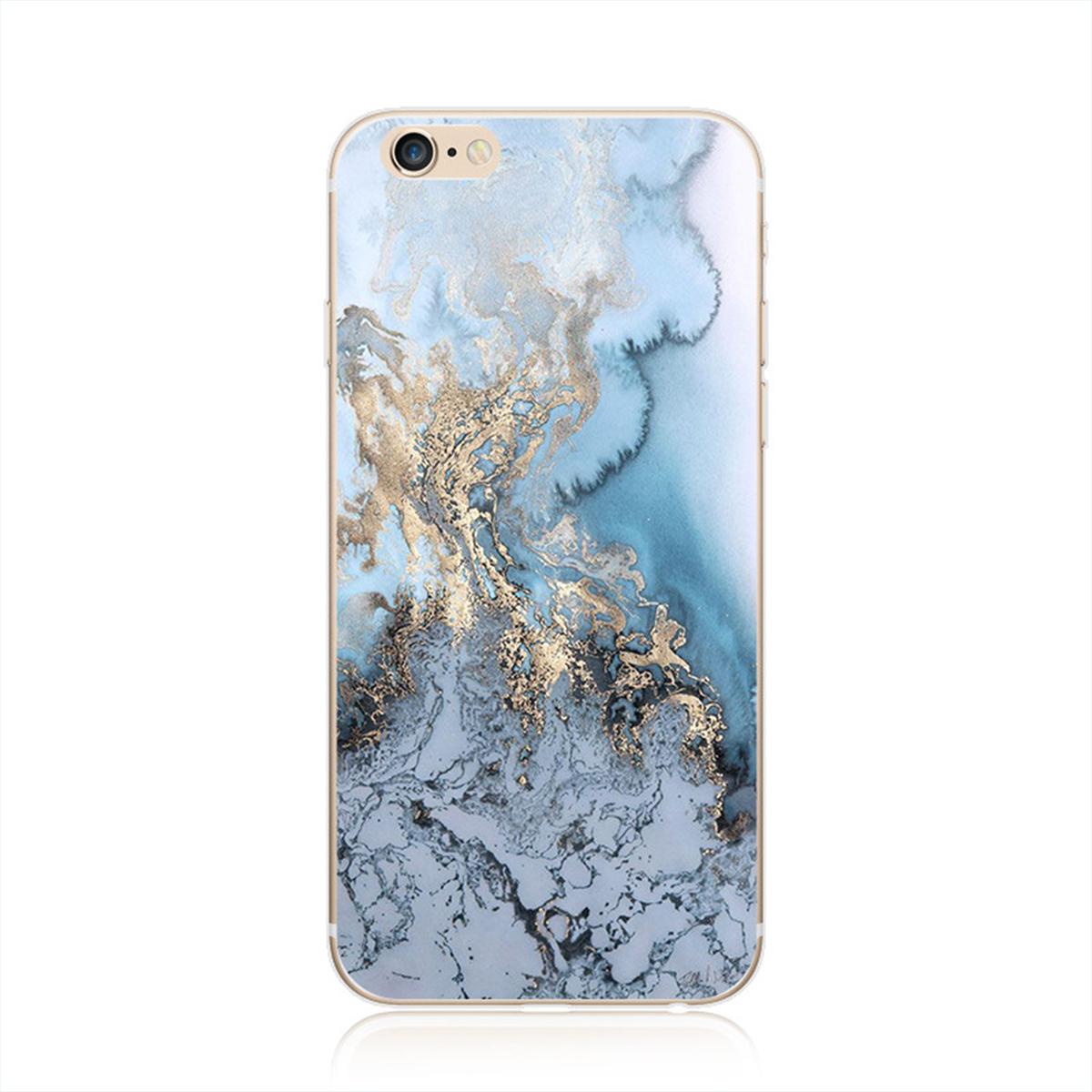 Kritzel Schutzhülle für iPhone 7 - Marmor