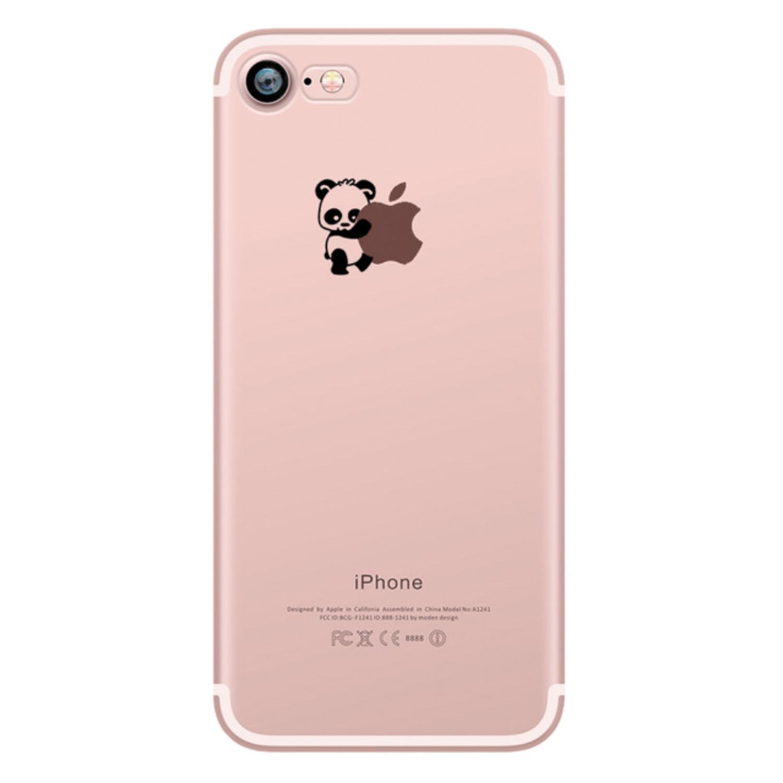 Kritzel Schutzhülle für iPhone 7 - Panda