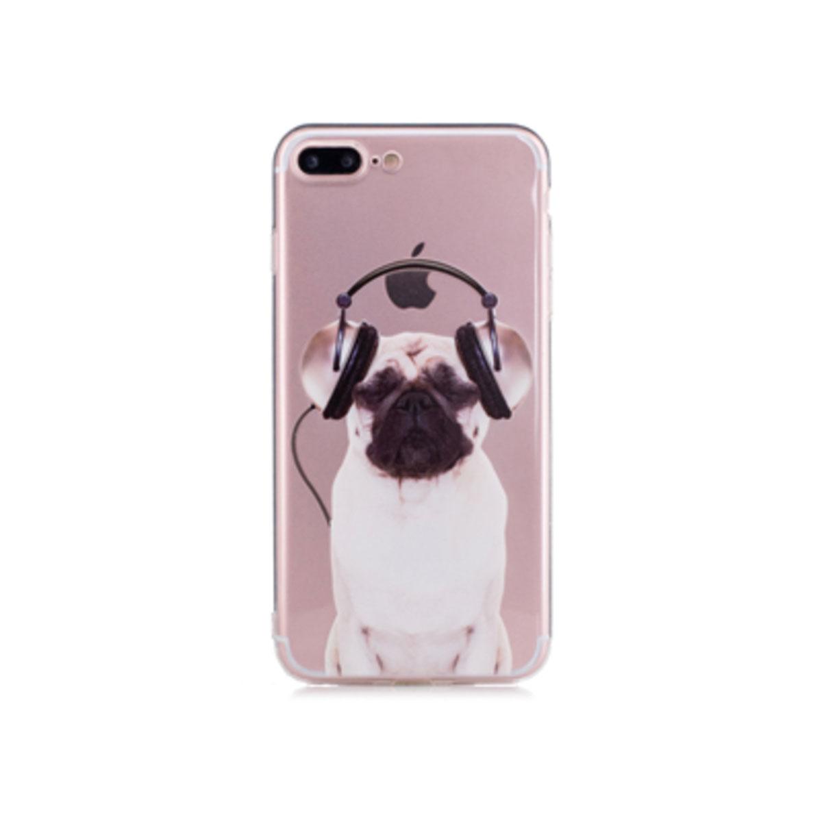 Kritzel Schutzhülle für iPhone 7 - Hund