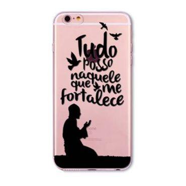 NOXCASE Case iPhone 6 / 6s - Tudo posso...