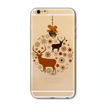 NOXCASE Case iPhone 6 / 6s - Christmas