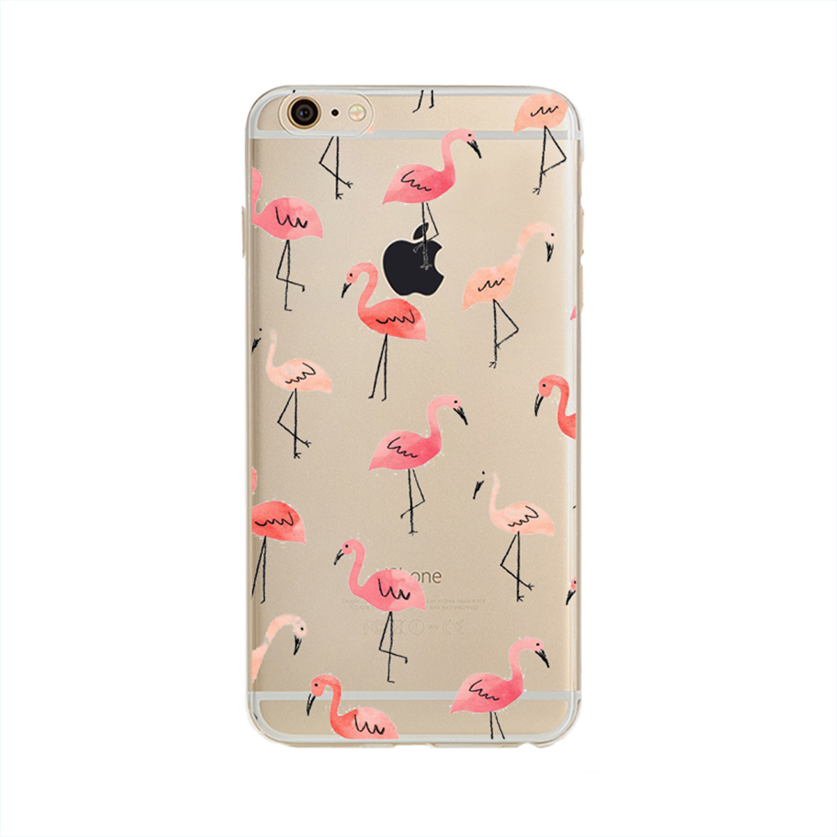 NOXCASE Hardcase für iPhone 7 Plus - Flamingo