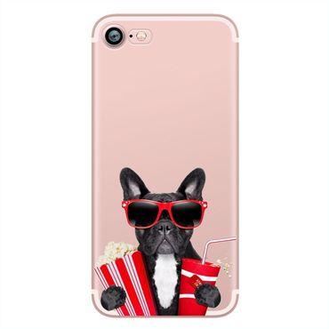 NOXCASE Hardcase für iPhone 7 Plus - Funky Dog