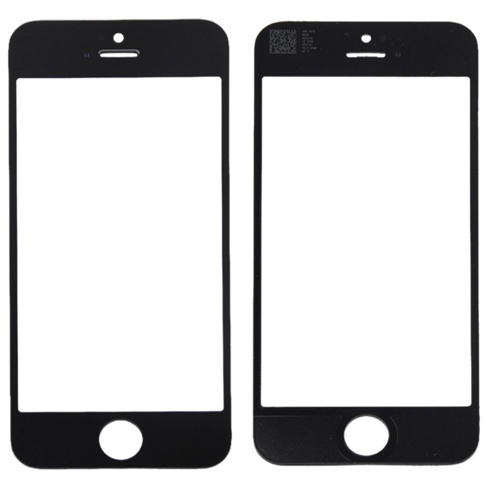 Ersatzglas für iPhone 5s - Schwarz