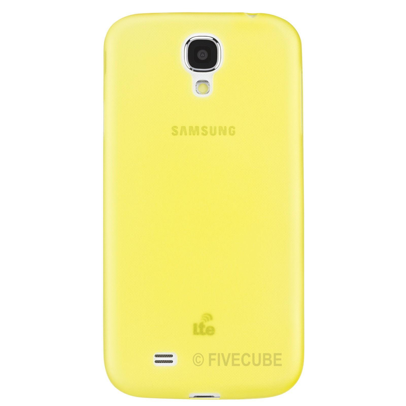 Yemota Pro Galaxy S4 Slim Case - Gelb