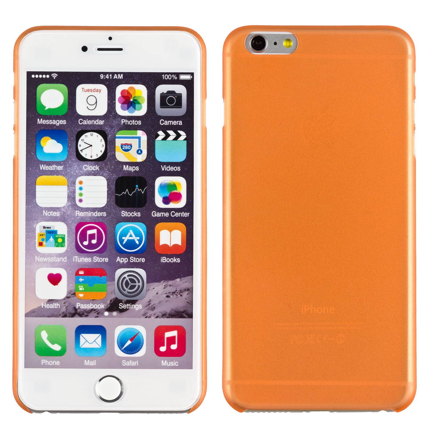 Yemota Pro Slimcase iPhone 6 plus - Orange