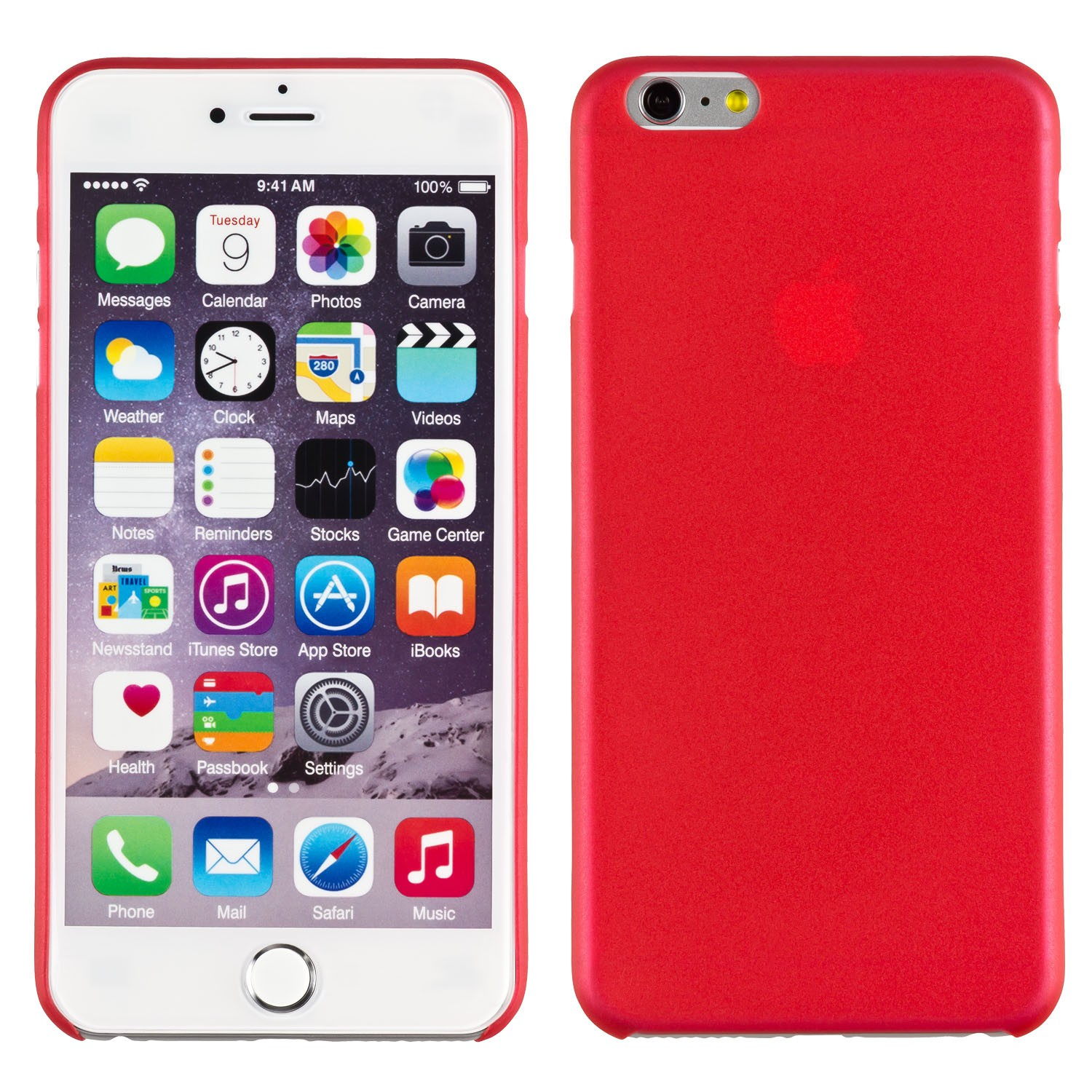 Yemota Pro Slimcase iPhone 6 plus - Rot
