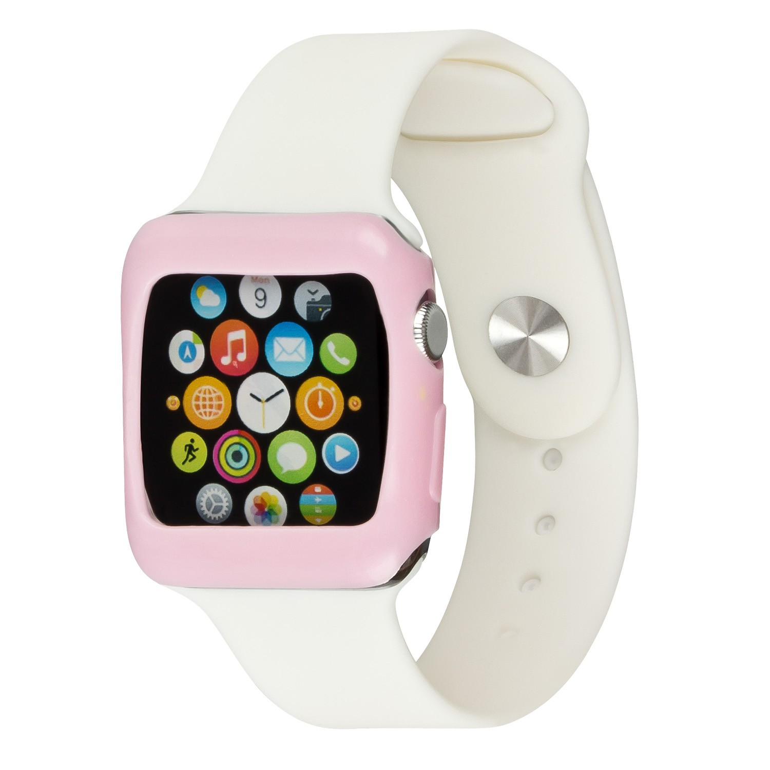 Yemota Pro Slimcase Apple Watch 38mm - Rosa