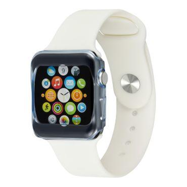 Yemota Pro Slimcase Apple Watch 38mm - Blau / Transparent