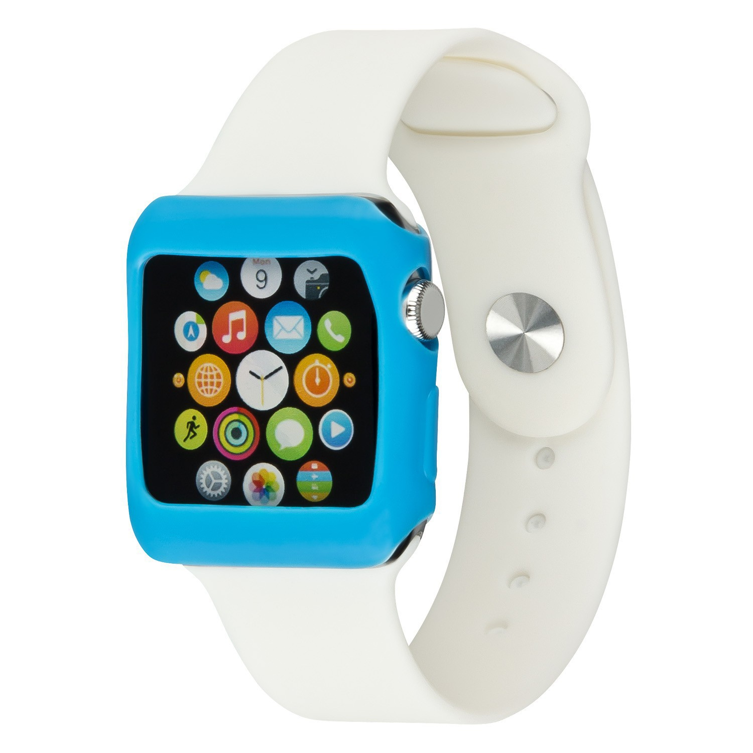 Yemota Pro Slimcase Apple Watch 42mm - Blau