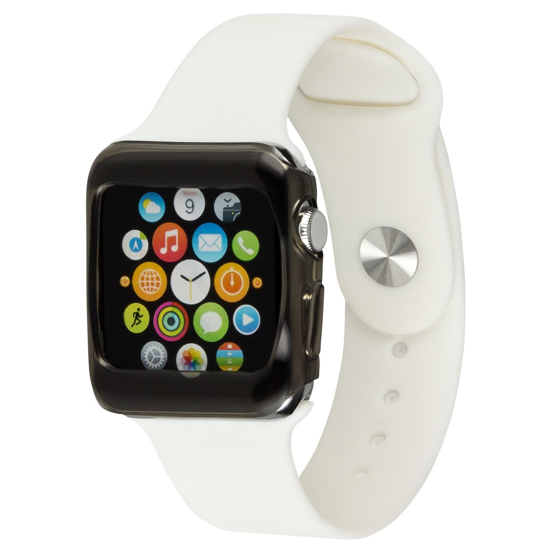 Yemota Pro Slimcase Apple Watch 42mm - Schwarz / Transparent
