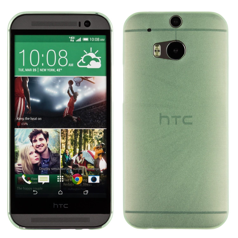 Yemota Pro Slimcase HTC One M8 - Grün