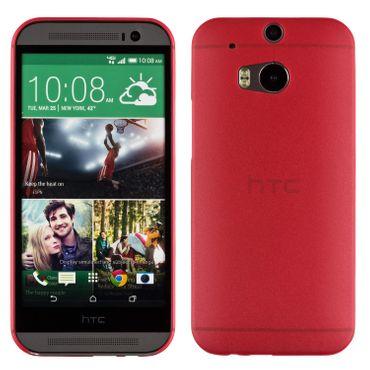 Yemota Pro Slimcase HTC One M8 - Rot