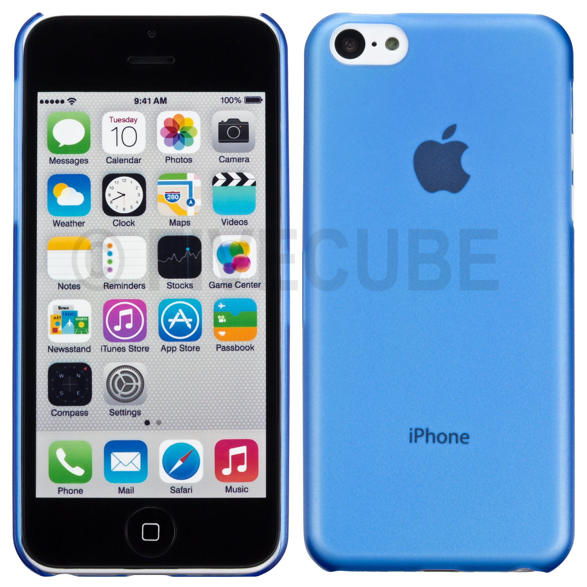 Yemota Pro Slimcase iPhone 5C - Blau