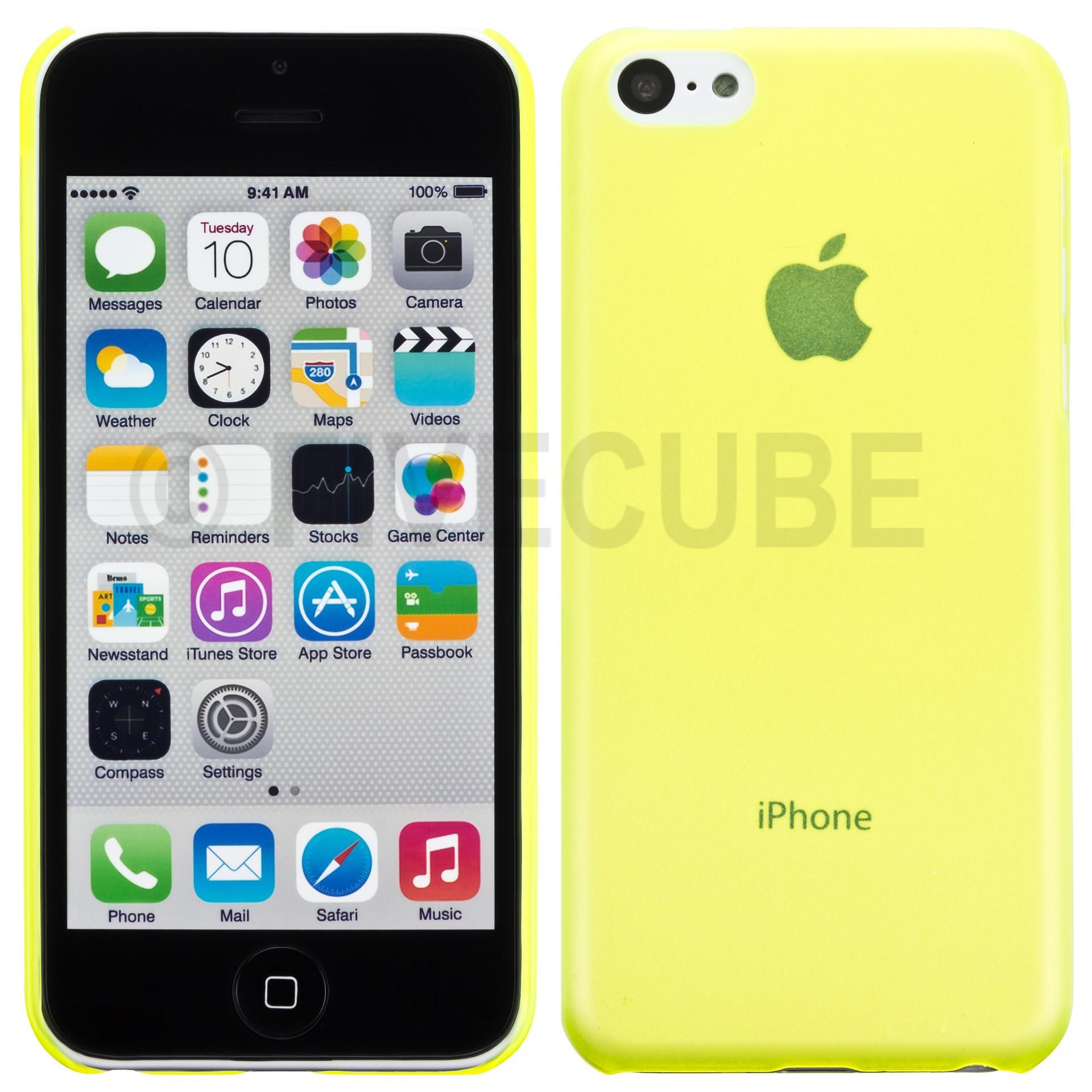 Yemota Pro Slimcase iPhone 5C - Gelb