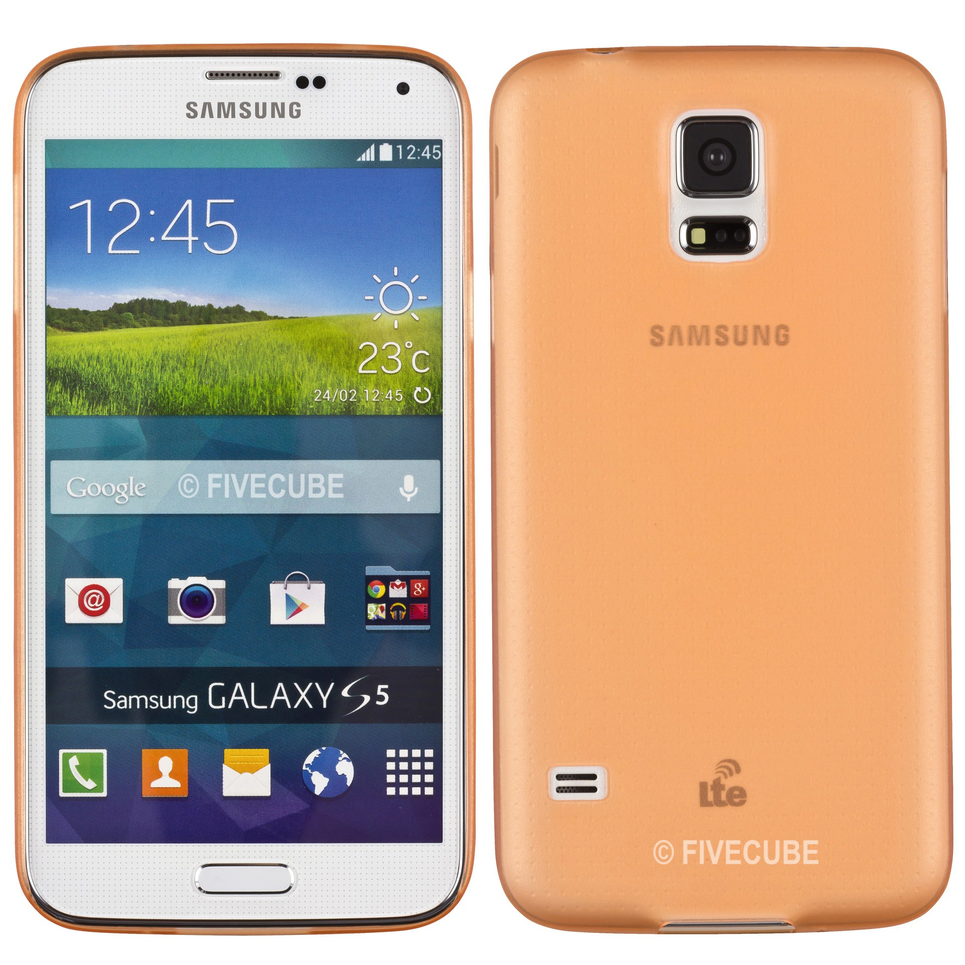 Yemota Pro Slimcase Samsung Galaxy S5 - Orange