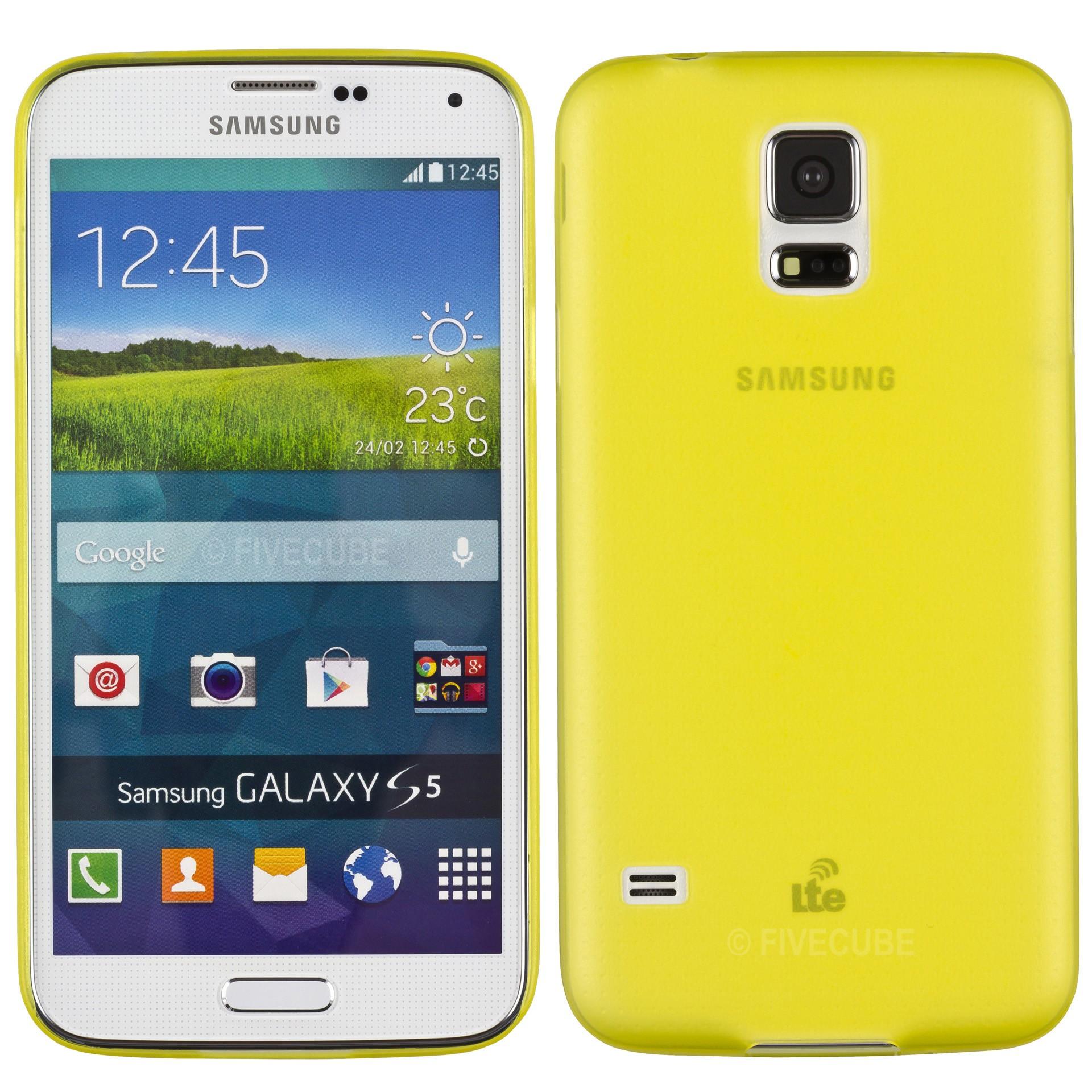 Yemota Pro Slimcase Samsung Galaxy S5 - Gelb