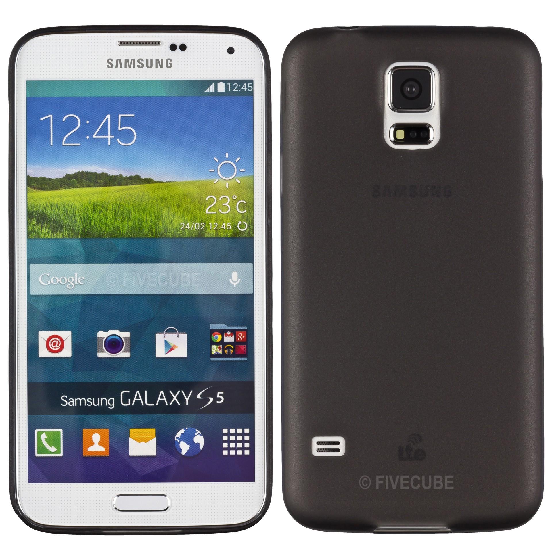 Yemota Pro Slimcase Samsung Galaxy S5 - Schwarz