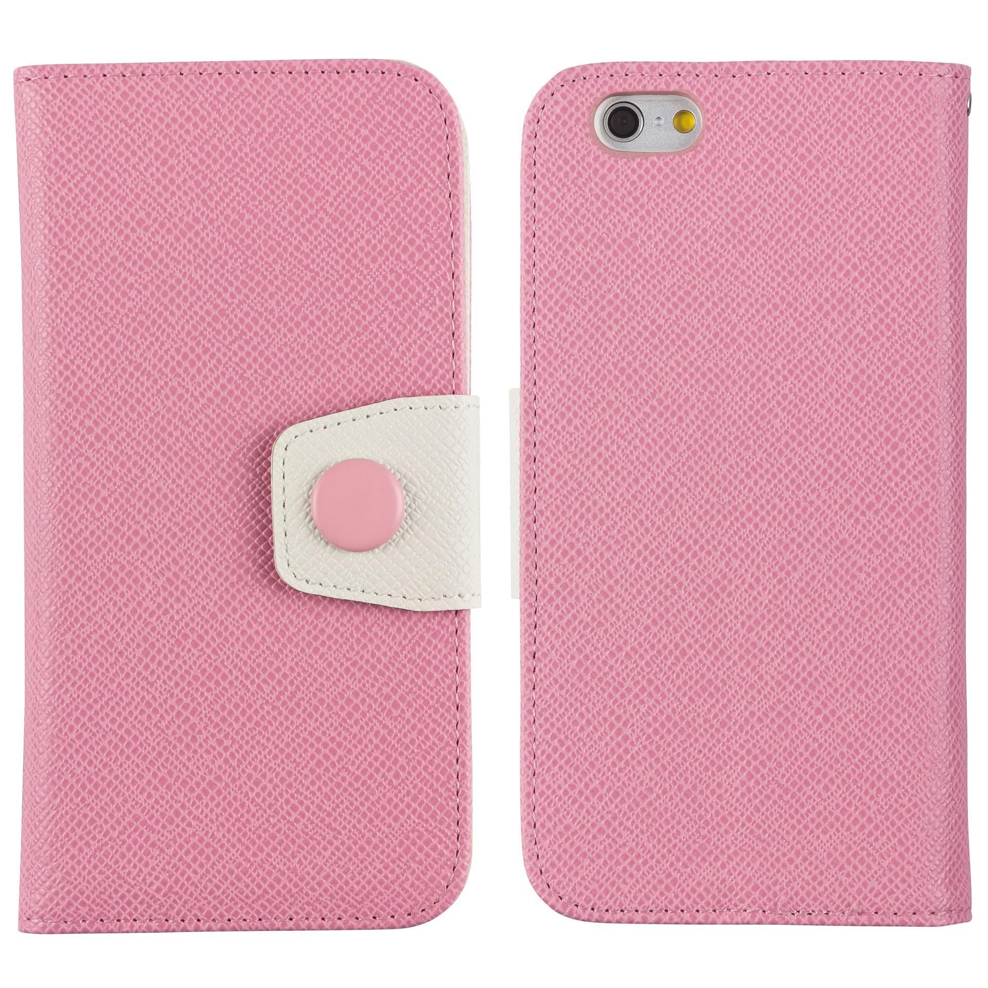 Yemota Pro FlipCase iPhone 6 - Rosa / Creme