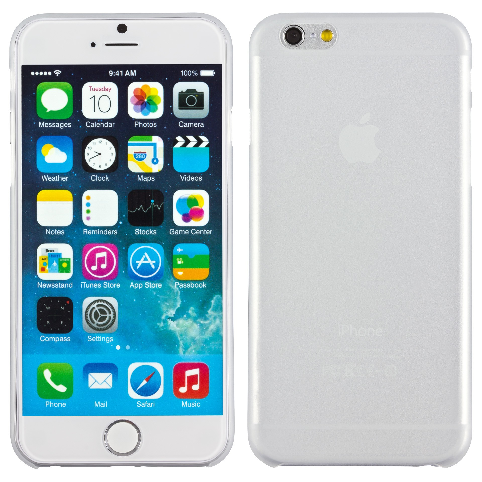 Yemota Pro Slimcase iPhone 6 - Weiß
