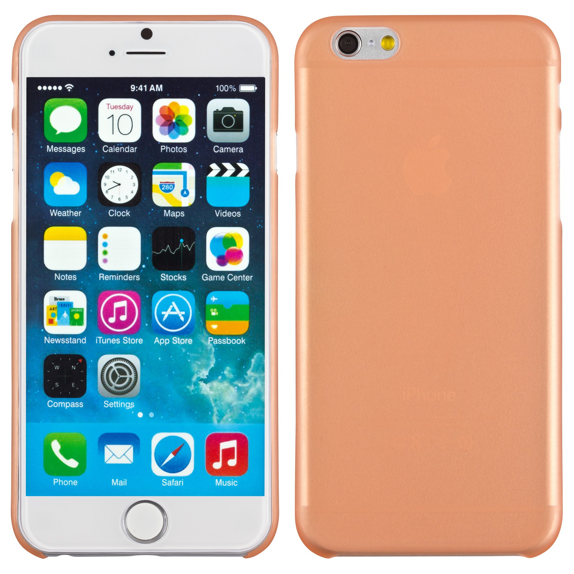 Yemota Pro Slimcase iPhone 6 - Orange
